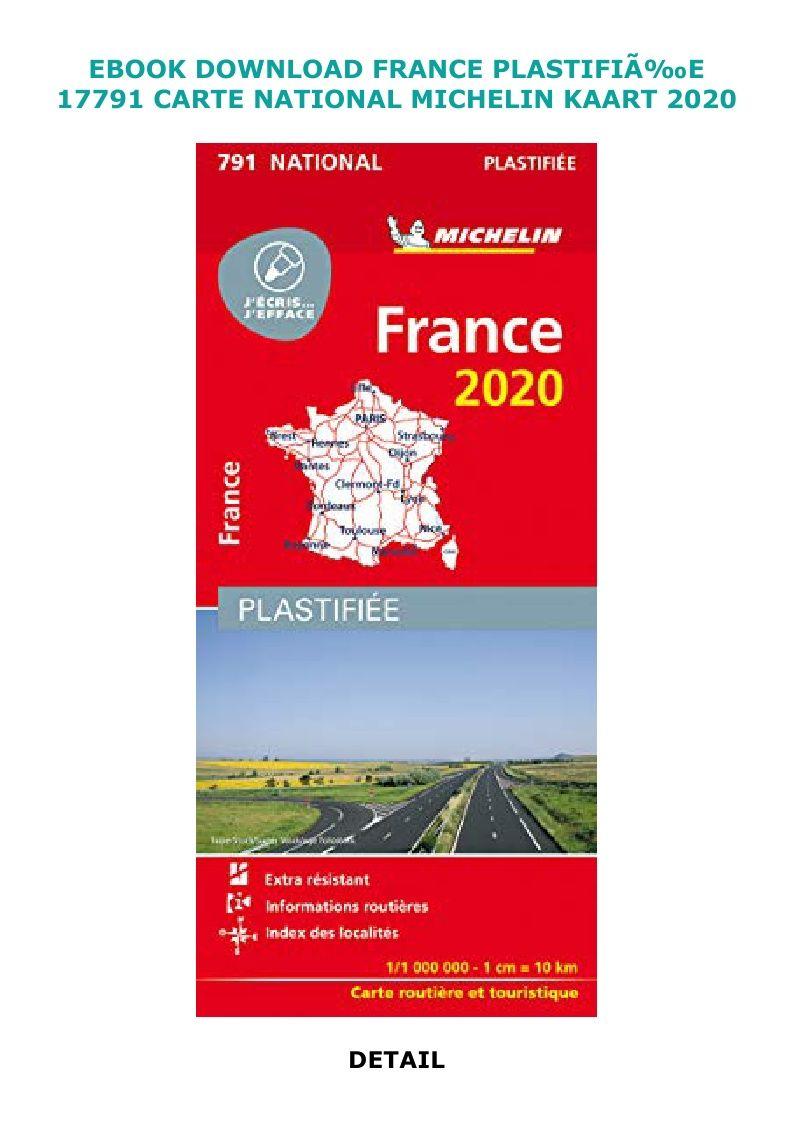Download Pdf France Plastifia E 17791 Carte National Michelin