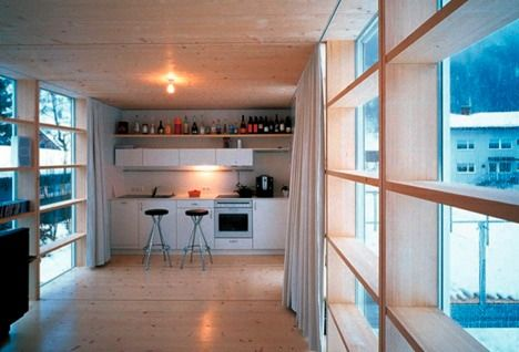 Container Housing Jumps the Shark Cargo container Interiors and