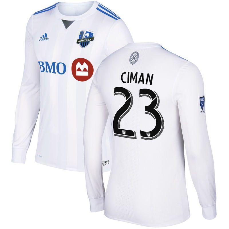 lowest price b9db9 d40e1 Laurent Ciman Montreal Impact adidas 2017/18 Secondary ...