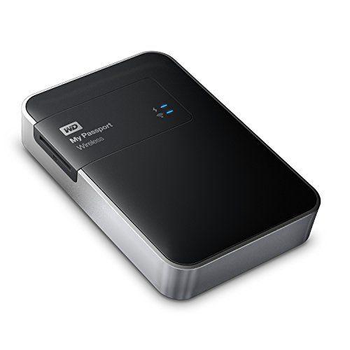 Wd My Passport Wireless 2 Tb Wi Fi Mobile Storage Wdbdaf0020bbk Nesn Western Digital Http Www Amazon Com Dp B00m9b448 Wireless Portable Hard Drives Digital