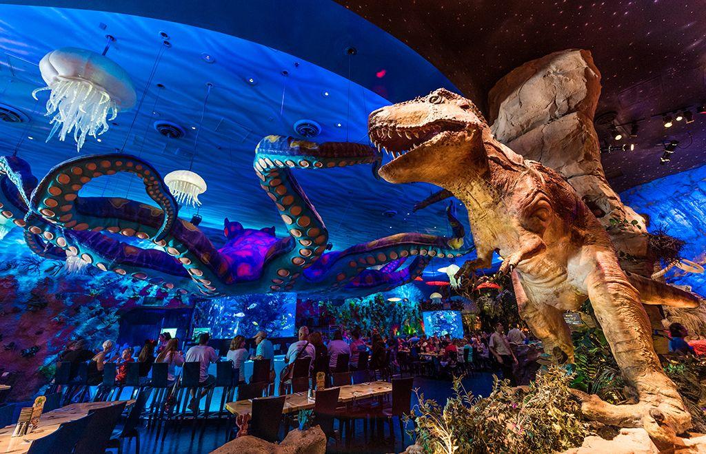 Restaurante T-Rex em Orlando #viagem #orlando #disney | Restaurante disney,  Mundo da disney, Downtown disney