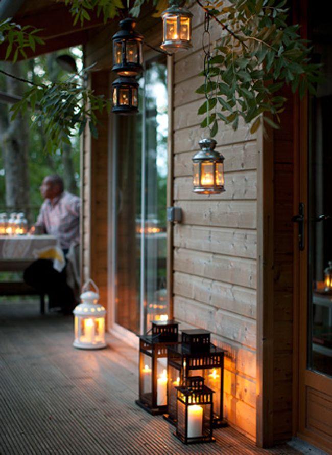 12 Idees Deco Pour L Exterieur Eclairage Brasero Et Plaids Deco Terrasse Exterieure Idee Deco Terrasse Eclairage Exterieur Terrasse