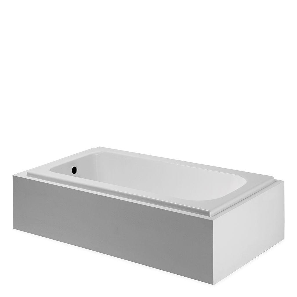 Minna Rectangular Cast Iron Bathtub | Waterworks Studio | Pinterest ...