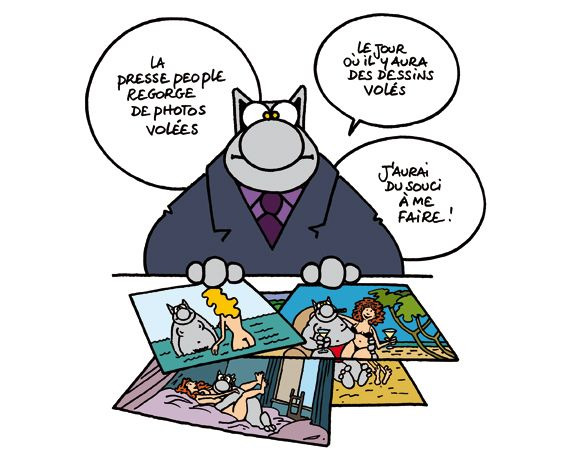 Le chat geluck chat - Dessin du chat ...