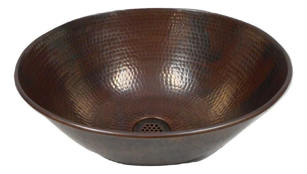 Installation X3a Vessel Drain Included X3a 19 Hole Grid Drain X28 Will Not Hold Water X29 Easy To Care For Each Sink Copper Vessel Bath Sinks Vessel