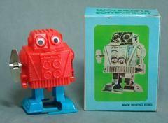Vintage Hong Kong Wind Up Robot