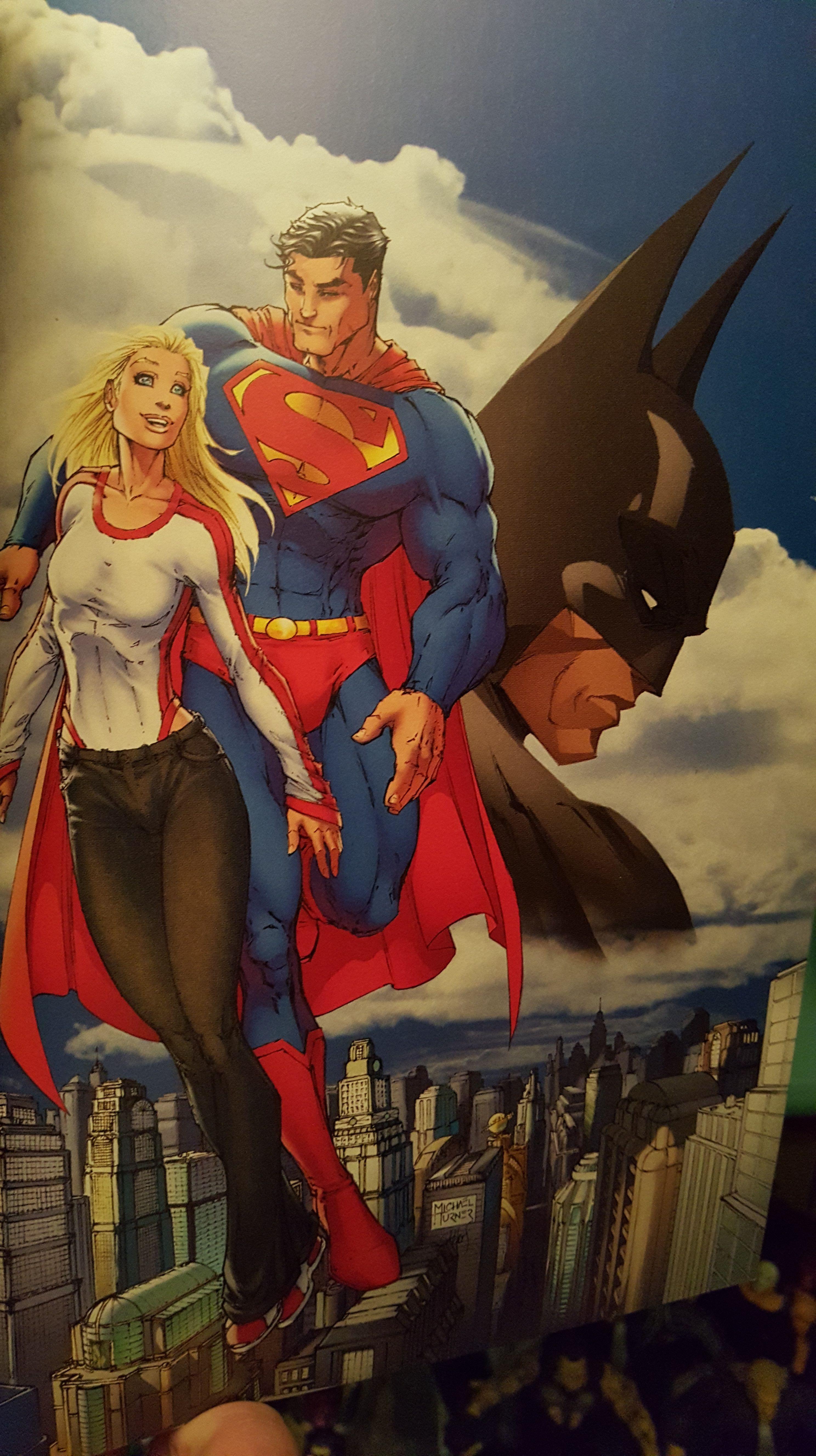Tbtreviews Superman Batman Apocalypse Or The Reintroduction Of Supergirl Superman Batman Apocalypse Supergirl Supergirl Superman