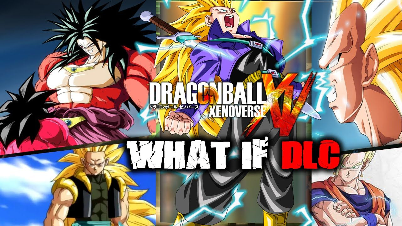 Dragon Ball Xenoverse What If Dlc Packs Adult Gotenks Ssj4
