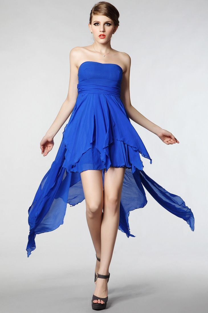 Short Bridesmaid Dresses As The Impressive Dress Royal Blue