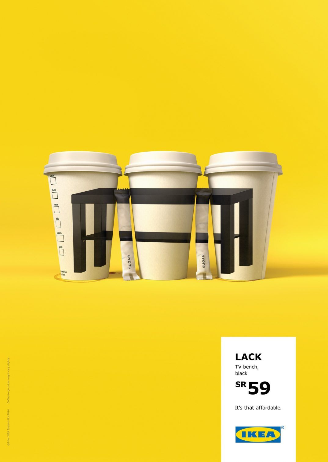 Ikea Displaying How Affordable The Product Is By Ogilvy Mather Uae Ikea Ad Ikea Ikea New [ 1514 x 1074 Pixel ]