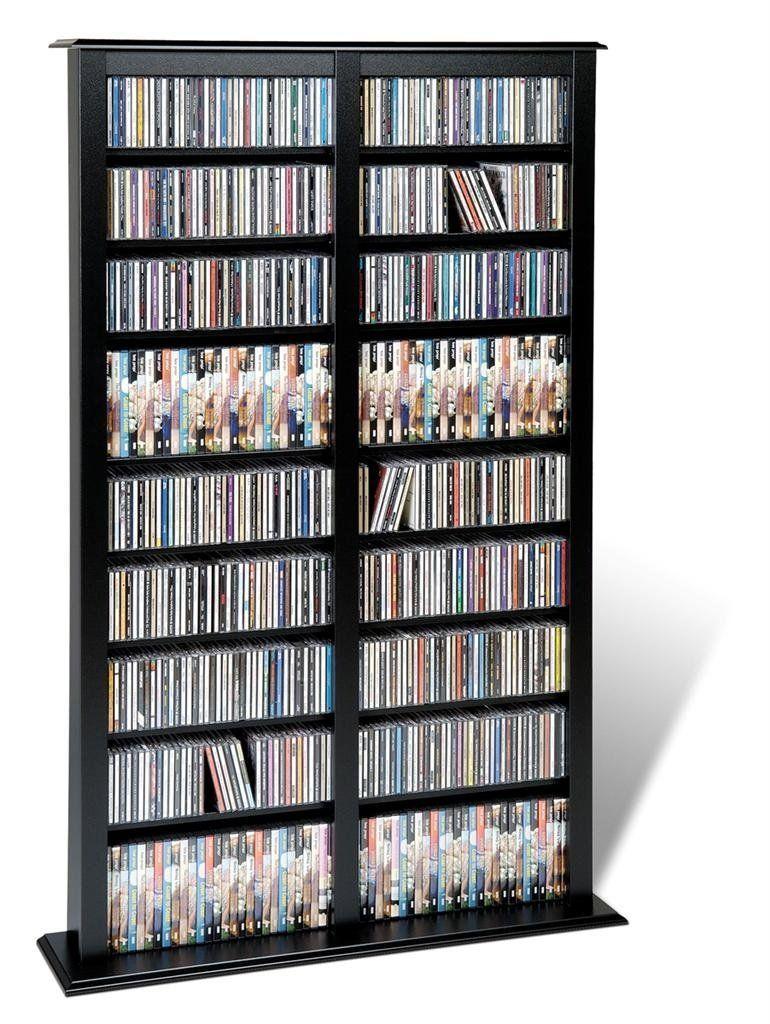 Almacenamiento mueble para colecci n de cds dvds juegos - Para guardar cds ...
