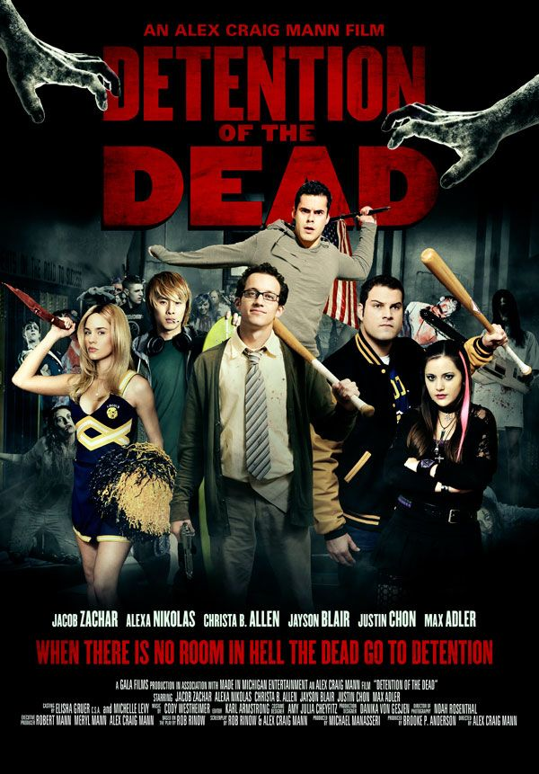 New Clip From Detention Of The Dead Horror Society The Dead Movie New Clip Zombie Movies