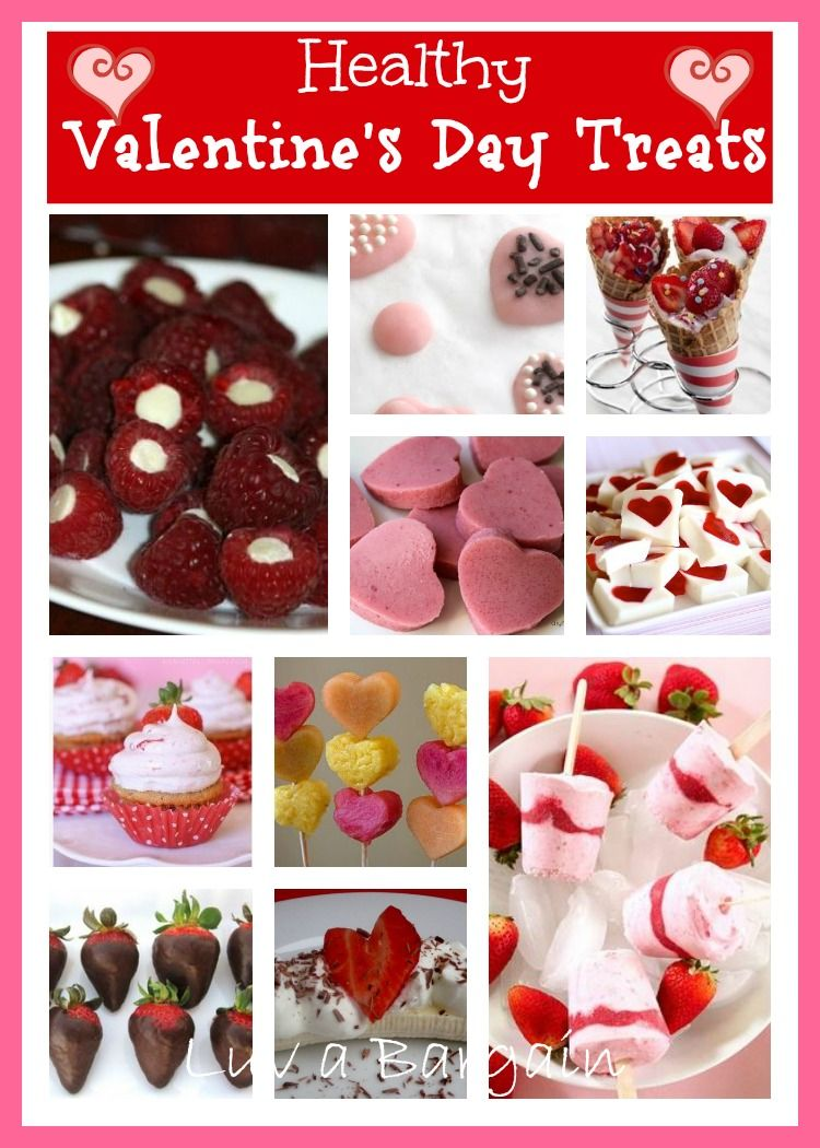 Healthy Valentine S Day Treats Pinterest Holidays Food And Recipes