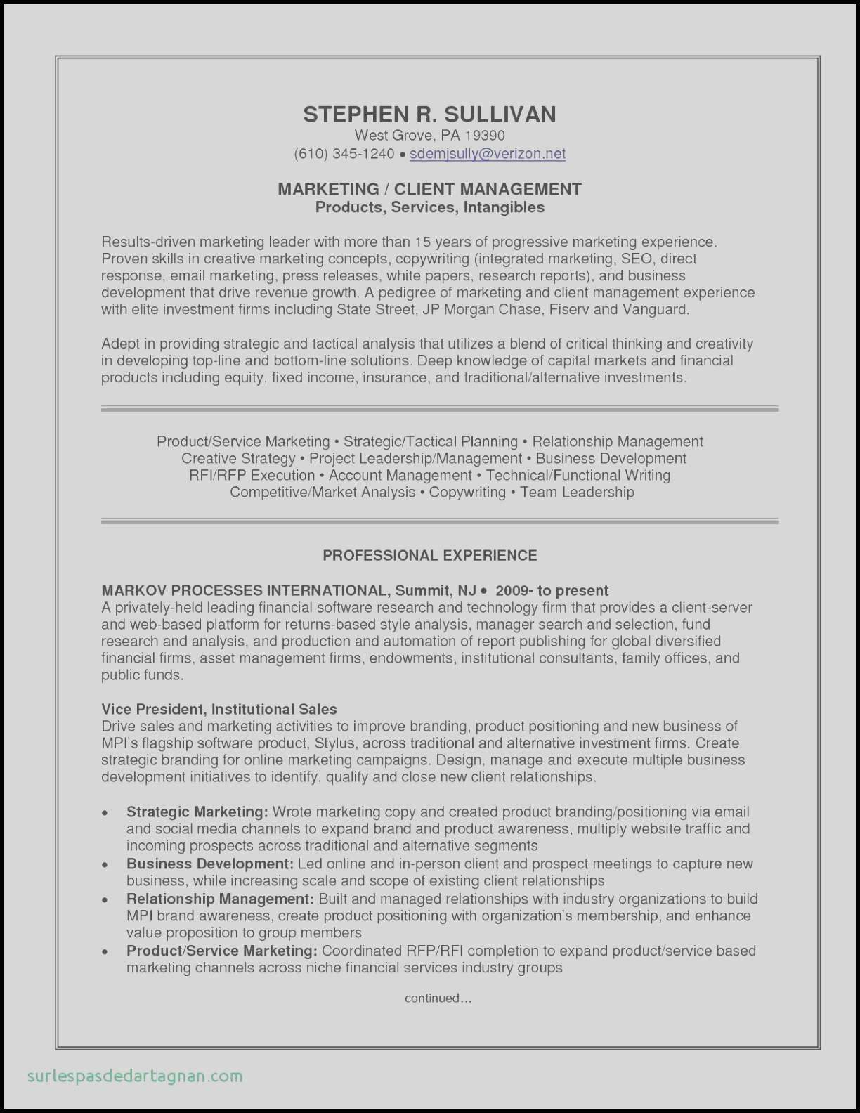 Production Report Template Marketing Resume Manager Resume Job