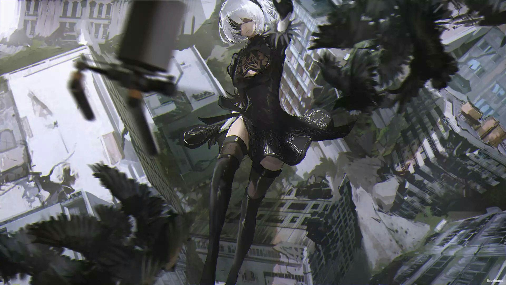 Hd wallpaper nier automata - Nier Automata Nier Automatahd Wallpapervideo Games