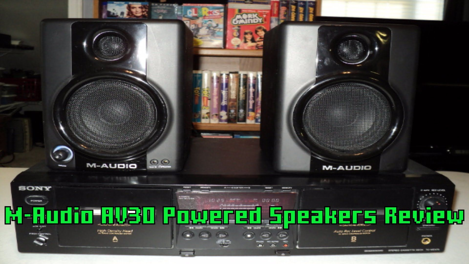 MAudio AV30 Powered Speakers Unboxing and Review M