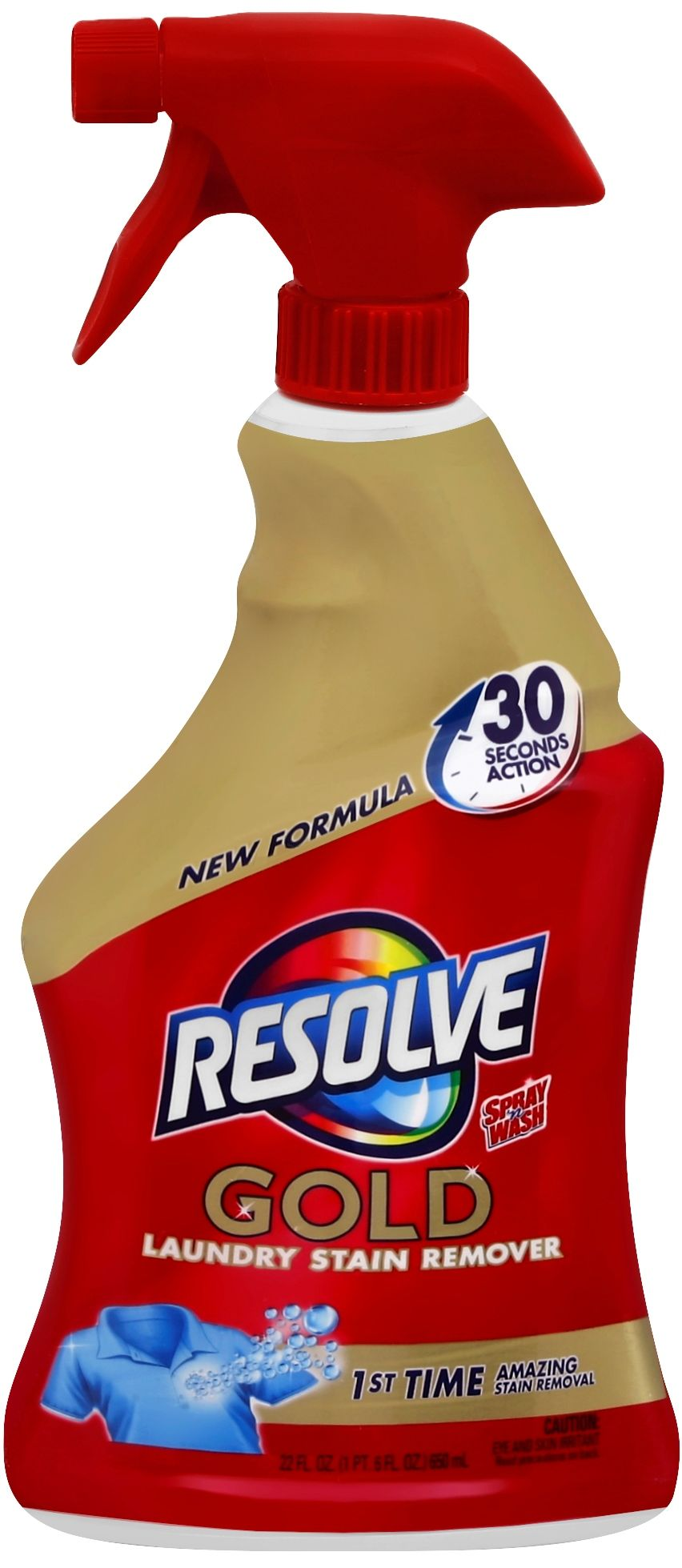 Kroger Resolve Gold Laundry Stain Remover Only 1 04 Bargains