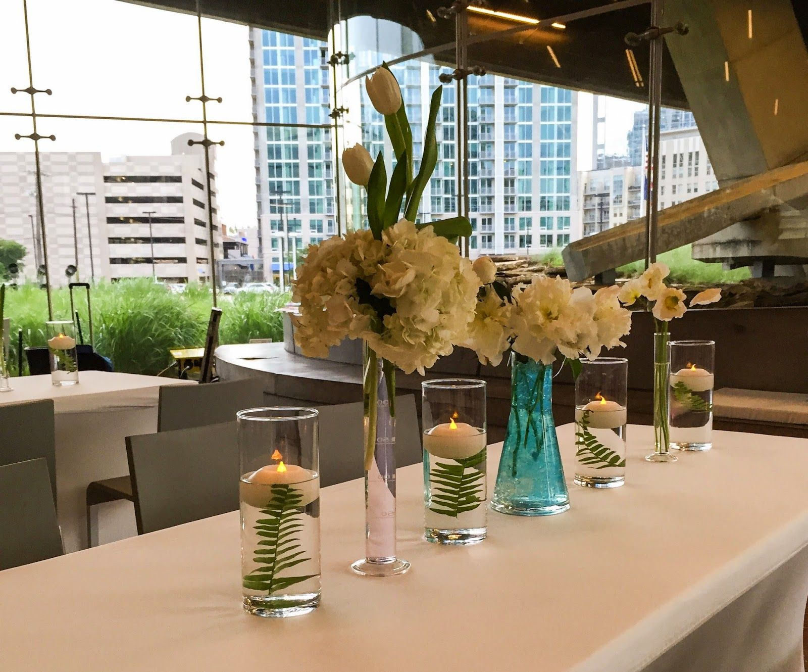 Dallas wedding at the Perot Museum Florals by The Garden Gate ...