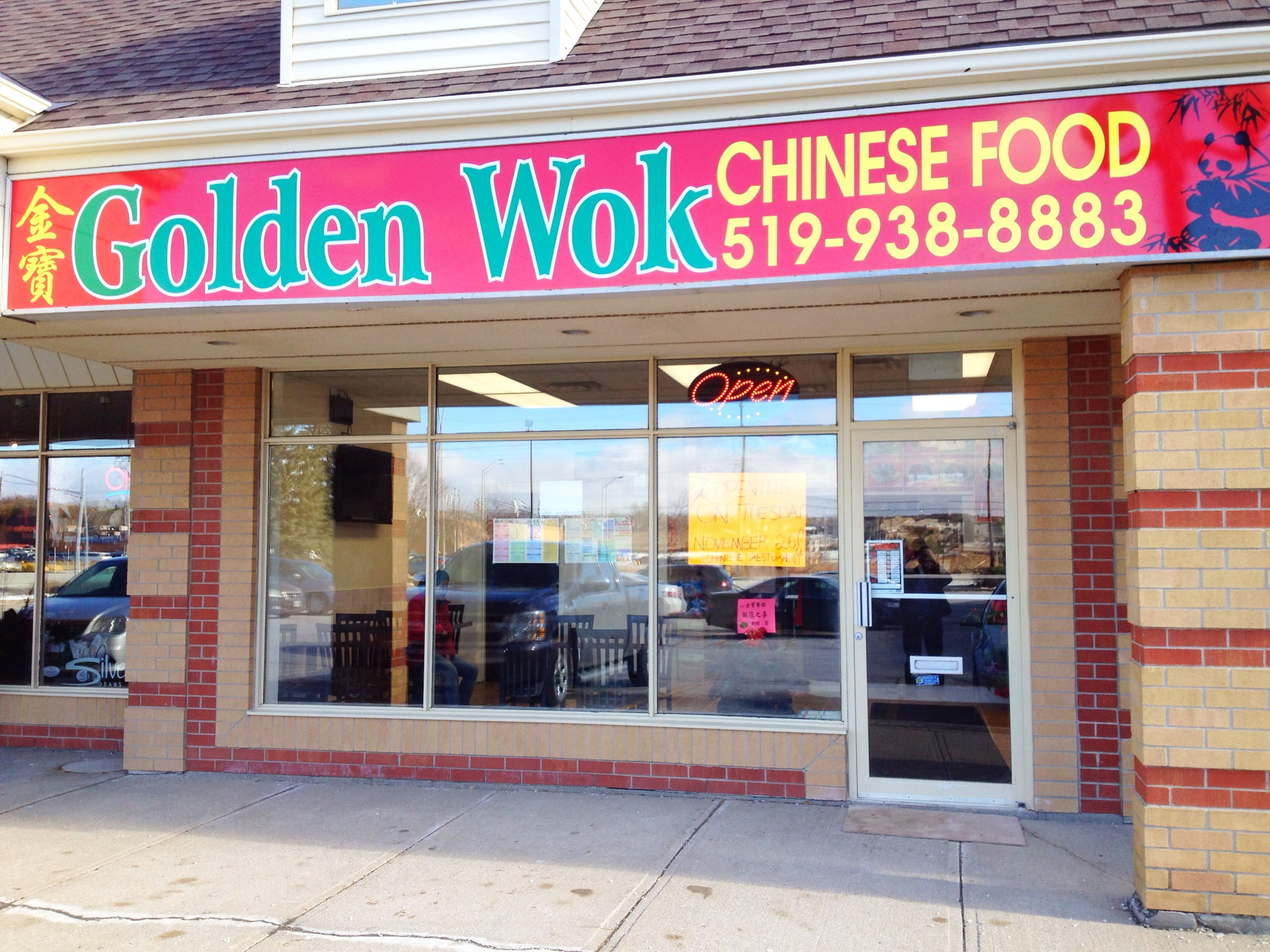 Yup The Golden Wok Is Now Open For Business And With A 15 Discount For The First Week How Awesome Is That Golden Wok Chinese Restaurant Chinese Food Hunan