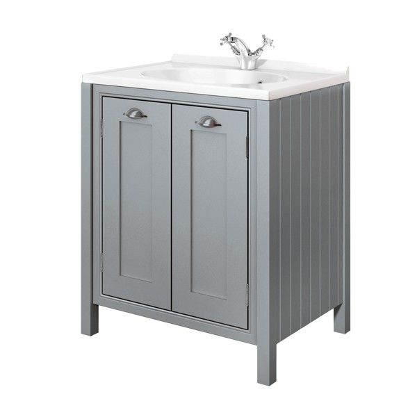 Moods Eterno Mist 2 Door Vanity Unit 700mm Traditional Units Bathroom Furniture