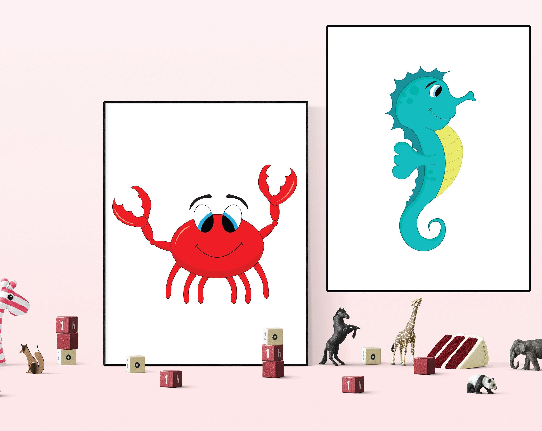 picture regarding Crab Printable known as Crab printable, Crab print, Crab wall artwork, Crab deco, Crab