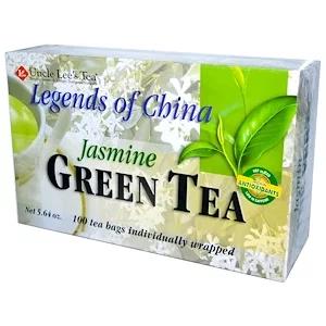Uncle Lee S Tea リジェンド オブ チャイナ グリーンティー ジャスミン ティーバッグ 100個 5 64オンス 160 G China Green Tea Green Tea Tea Bag