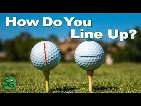 18 The Biggest Mistake Golfers Make With The Line On The Ball Mr Short Game Youtube Golf Tips For Beginners Golf Lessons Golf Drills