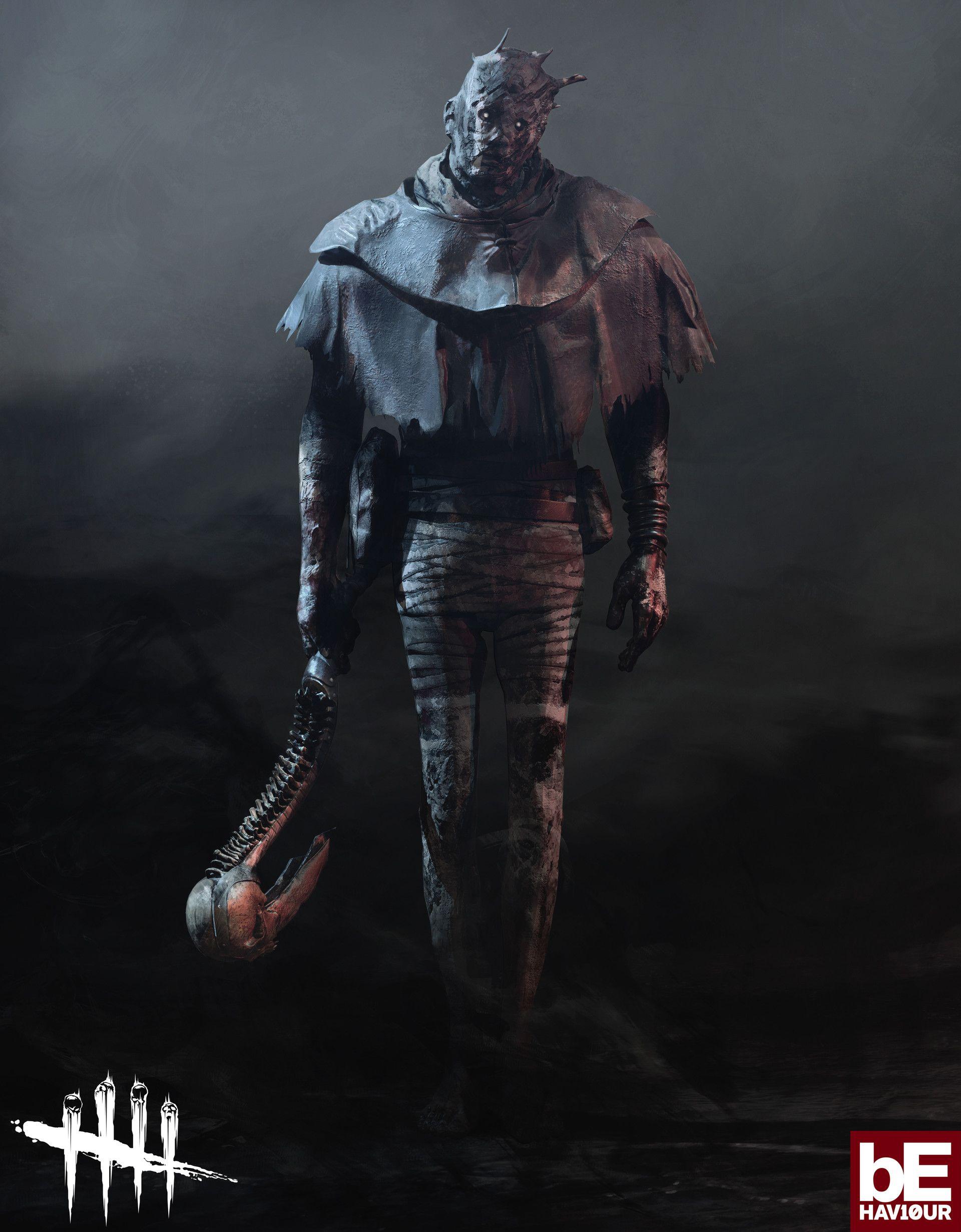 Artstation The Wraith From Dead By Daylight Damien Devaux