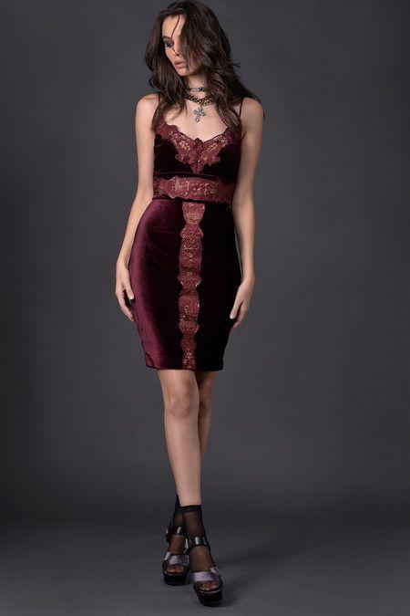 011fd2834 Vestido Rouge Noir Mary Lint   style   Roupas