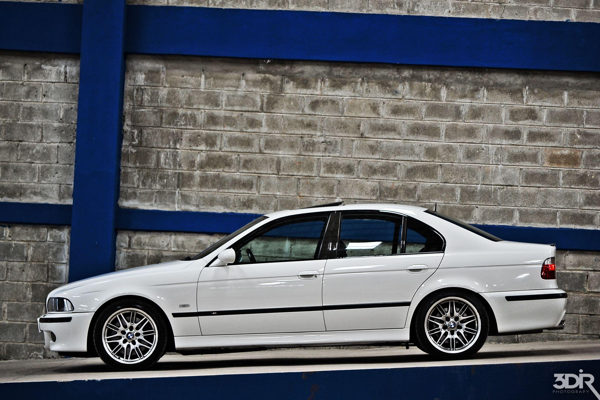 Alpine Weiss Bmw E39 M5