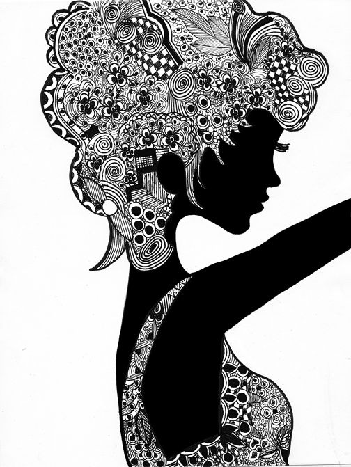 Face doodle art google zoeken pinterest art for Doodle art faces