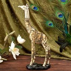 "giraffe 12"" statue"