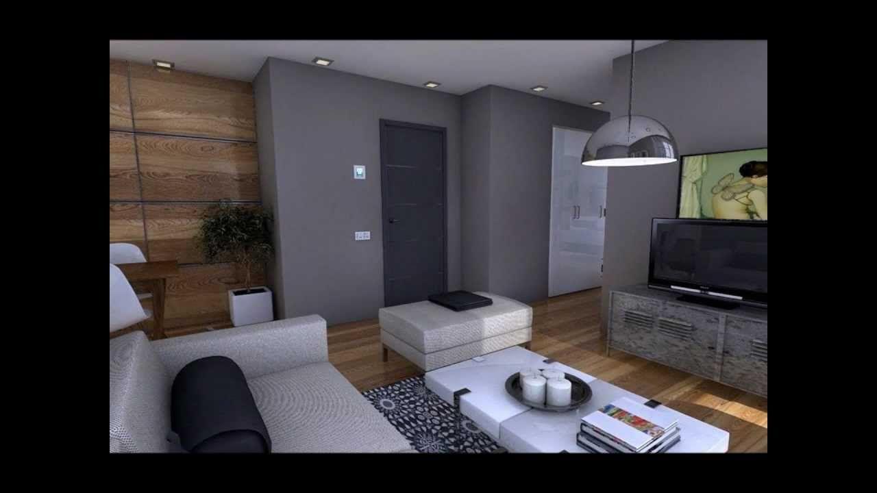 Dise o interior apartamento 50m2 espacios chicos for Iluminacion departamentos pequenos