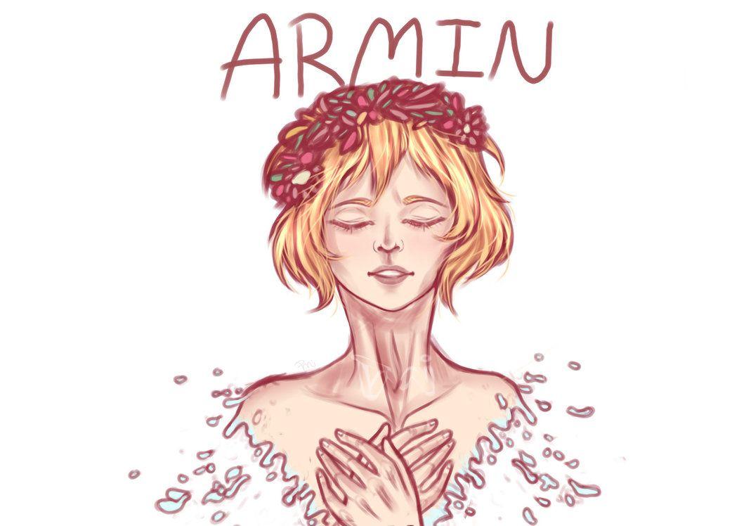 Ángel real Armin Arlert por doodlemeimpressed