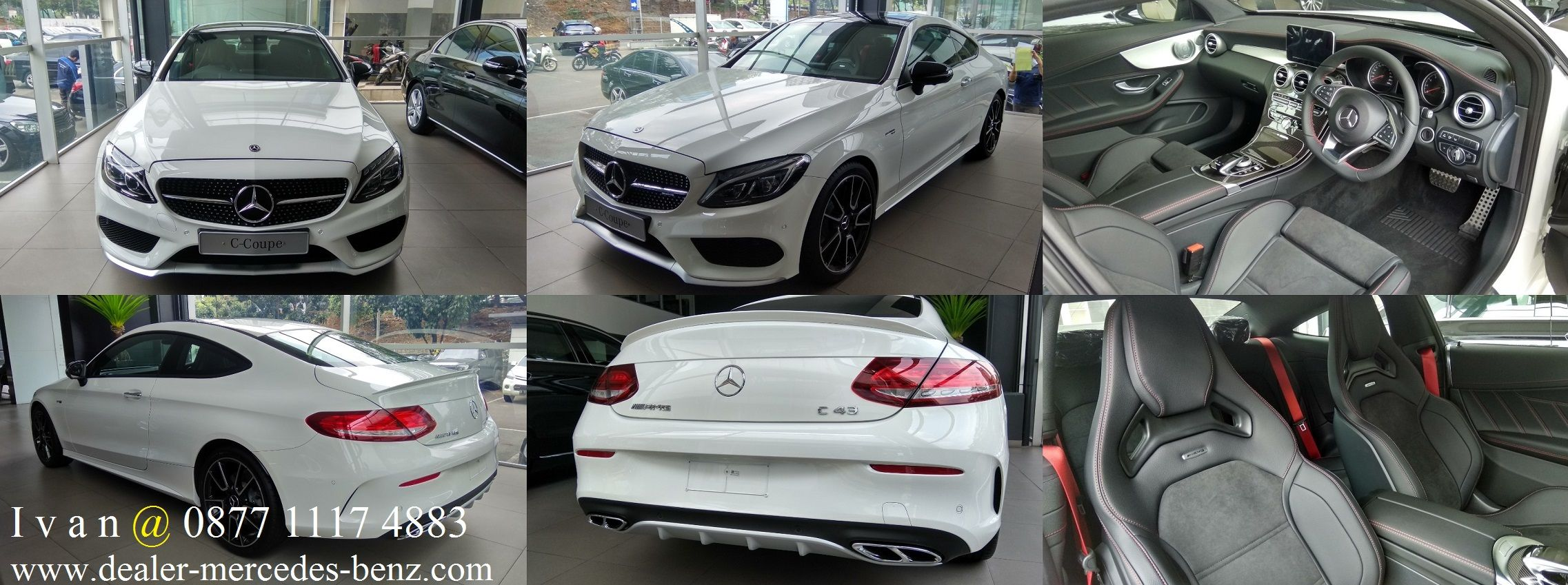 CClass C43 AMG Coupe 2017 Indonesia Dealer Mercedes
