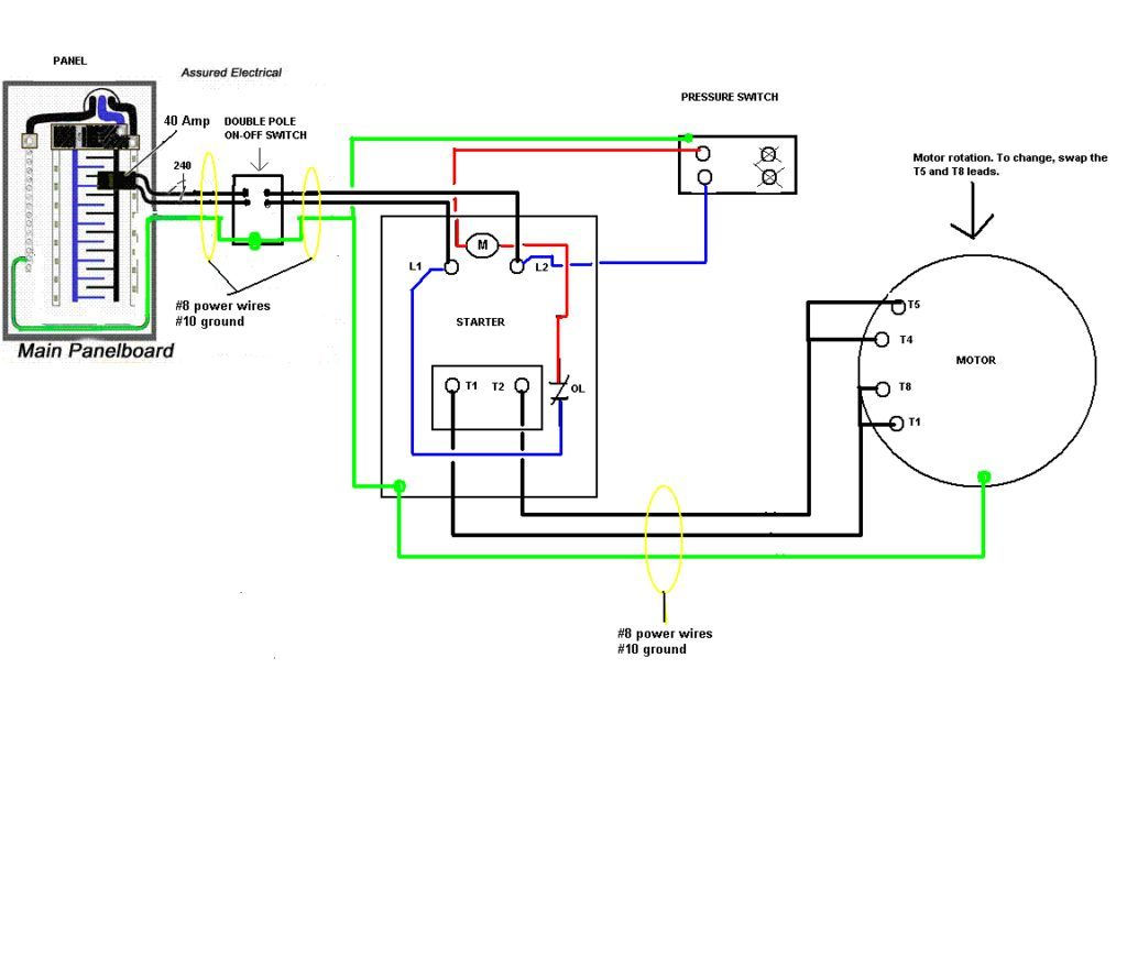 Pressure Switch Wiring Diagram Air Compressor On 5 Gif Cool And Ingersoll  Rand On Ingersoll Rand Air Comp… | Air compressor, Air compressor pressure  switch, DiagramPinterest