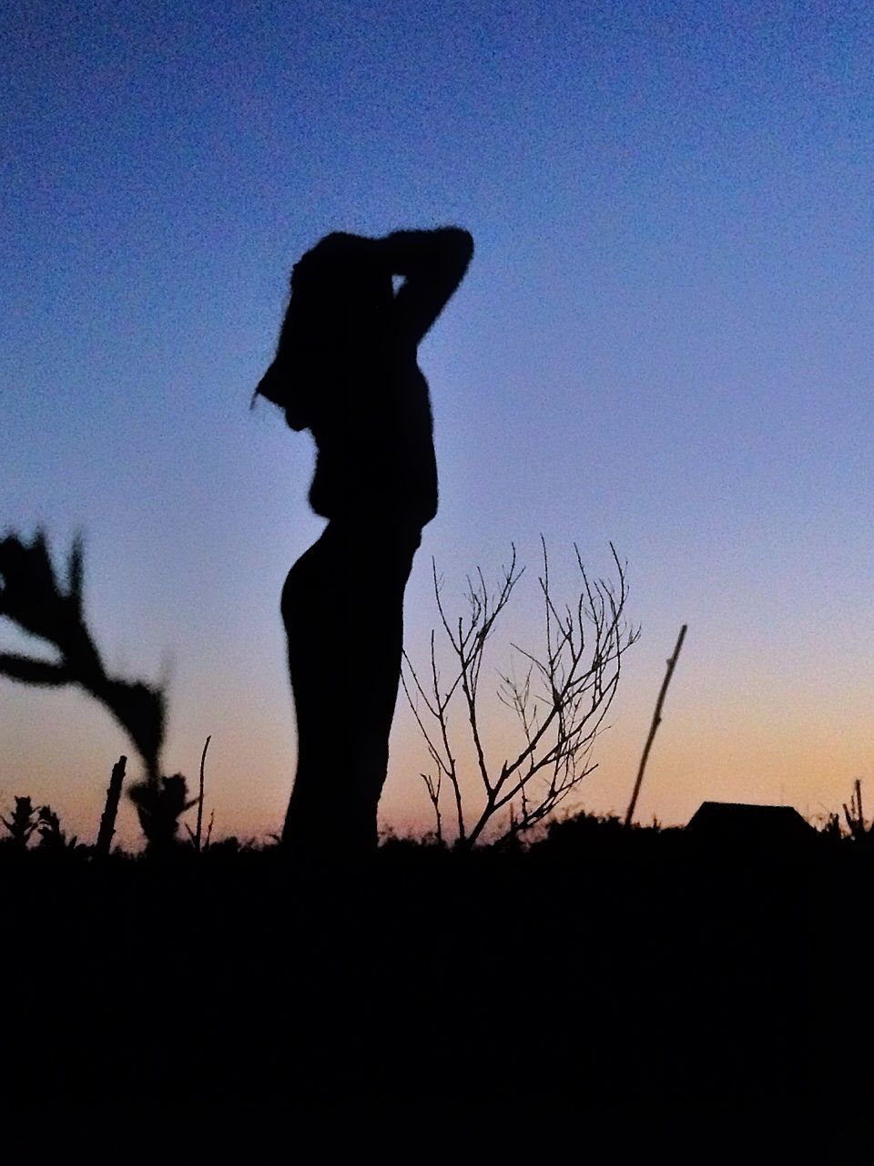 Фото тени девочки на аву
