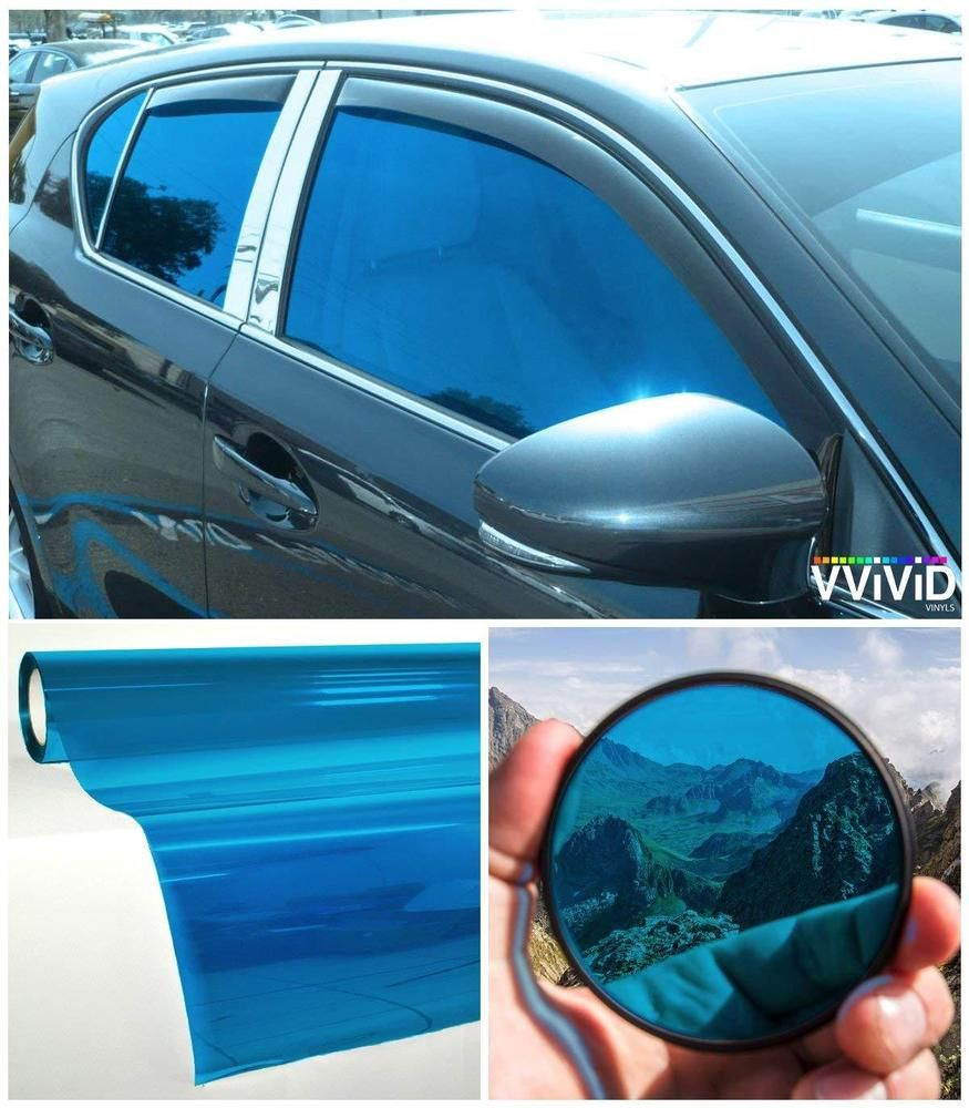 Details About Car Window Tinting Durable Privacy Transparent Vinyl