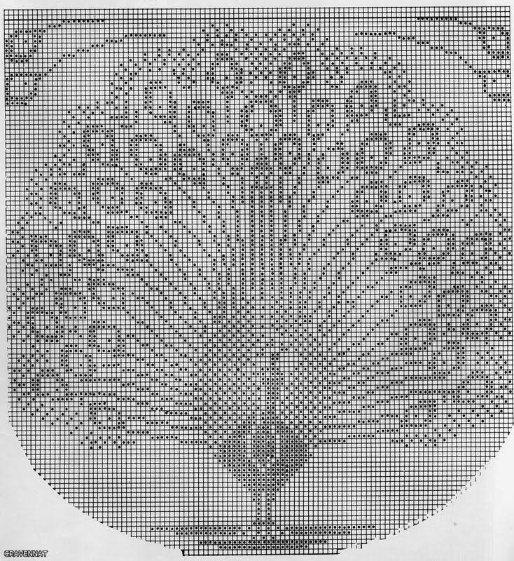 Nice Pfau Häkelmuster Illustration - Decke Stricken Muster ...
