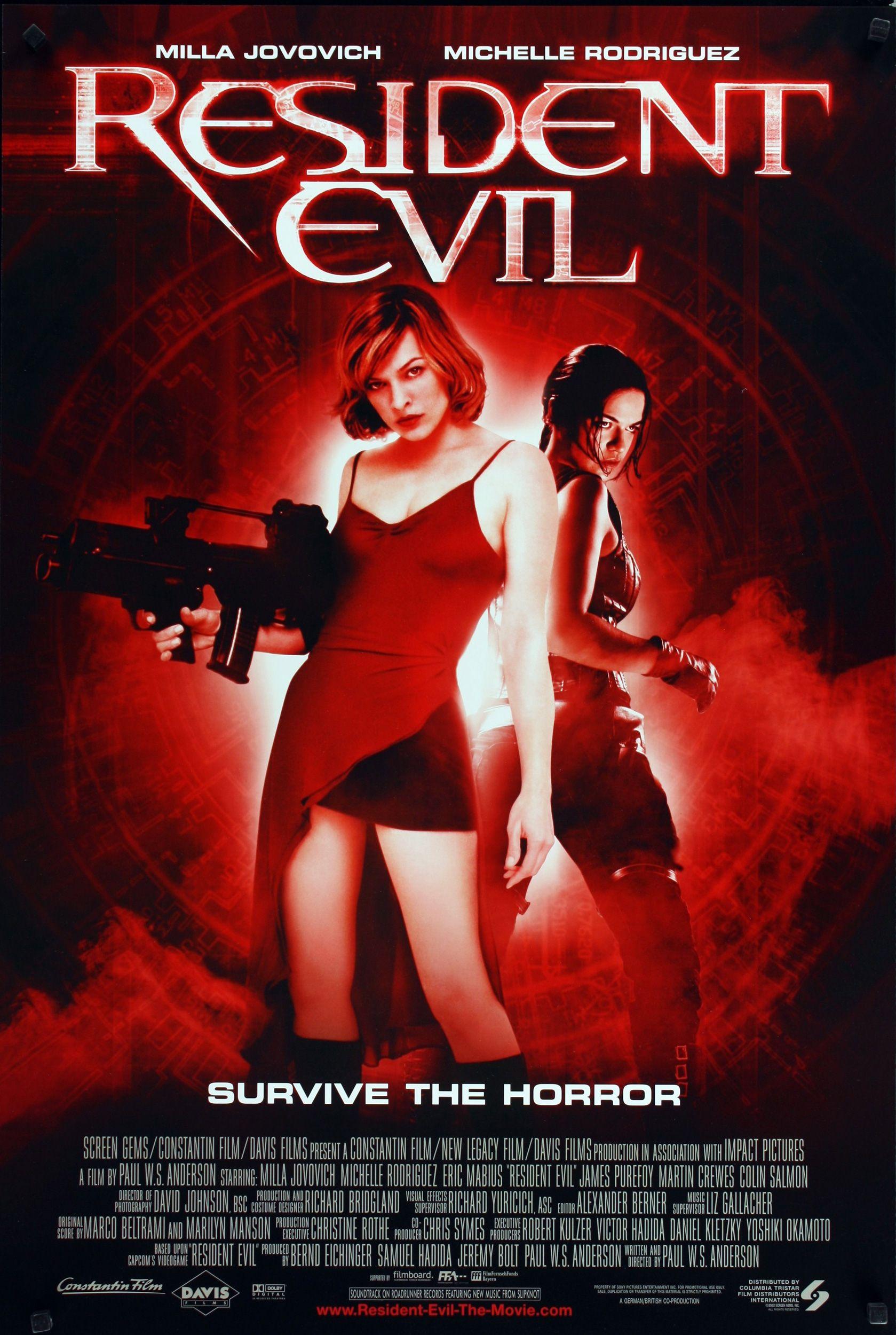 Resident Evil 2002 Resident Evil Pelicula Disfraz De Resident Evil Resident Evil