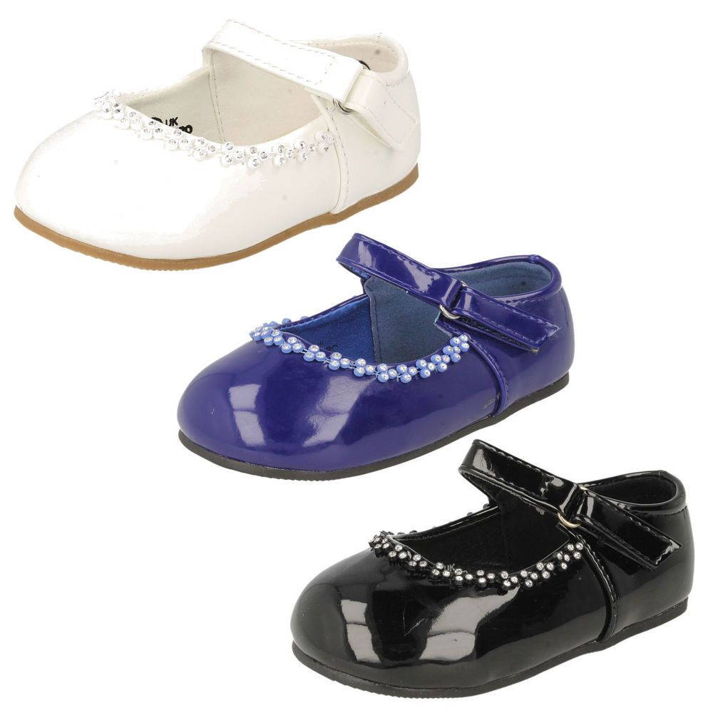 Spot On H3020 Girls Bridesmaid//Christening//Holy Communion Formal Shoes