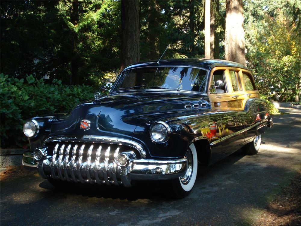 1950 Buick Super Estate Wagon 61958 Buick Super Estate Wagon