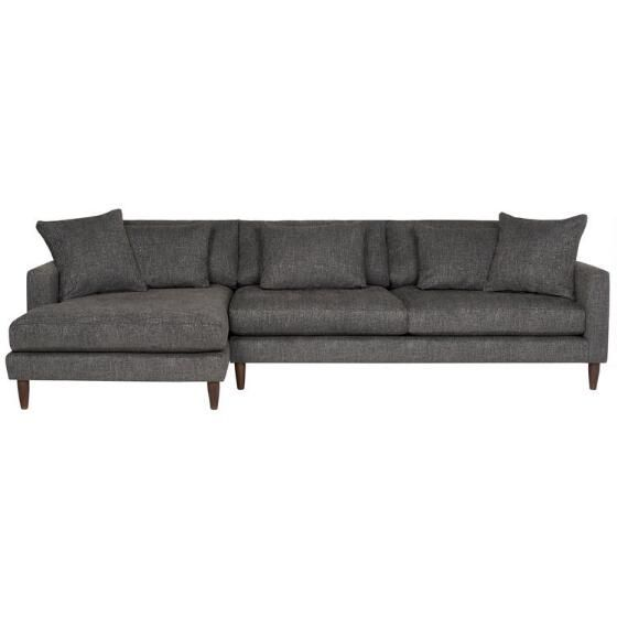 Stupendous Nixon Sofa Chaise Giovanna Pewter Chaise Sofa Sofa Toss Pdpeps Interior Chair Design Pdpepsorg