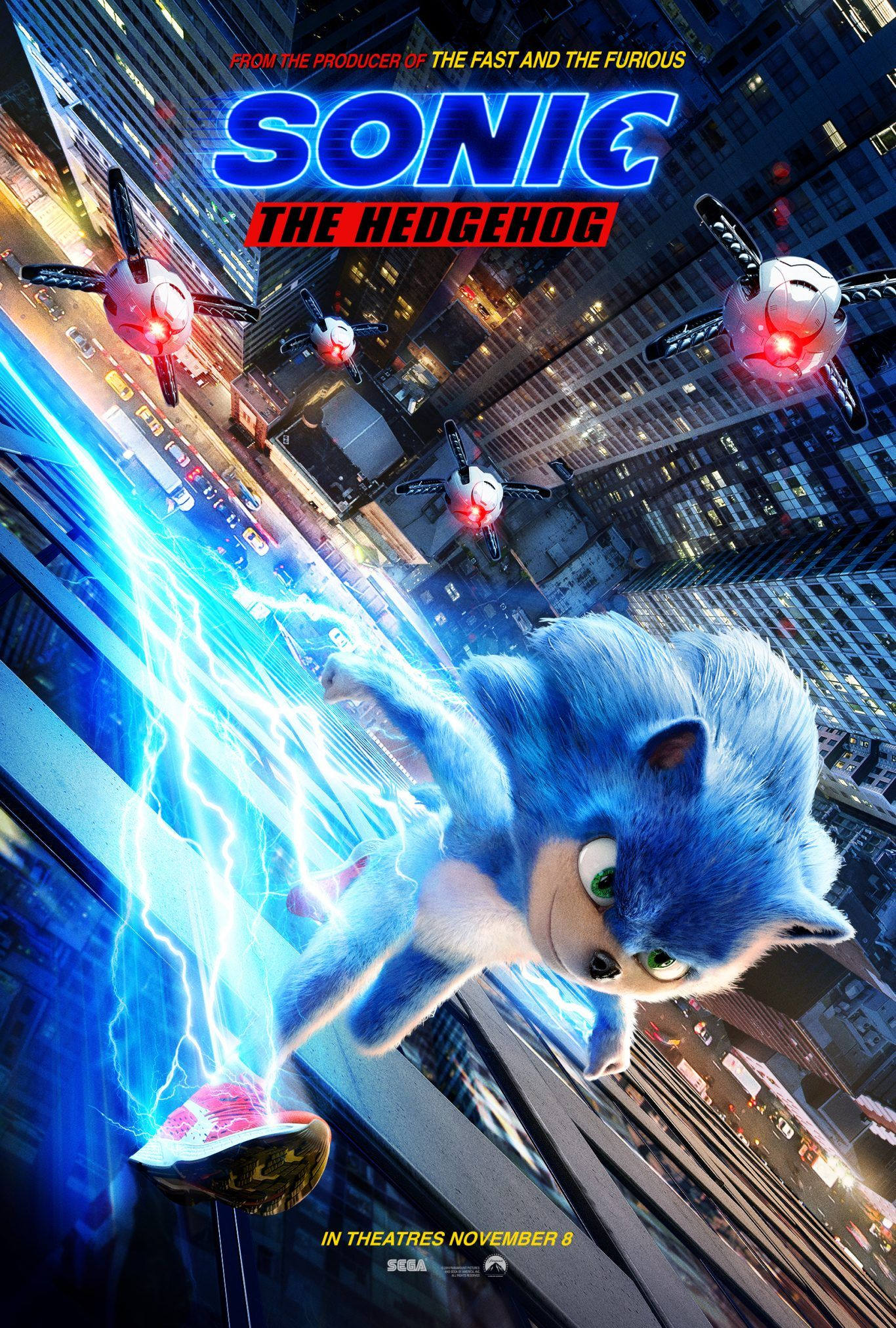Don T Miss Sonic The Hedgehog Coming To Theaters In November Sonicmovie Hedgehog Movie Sonic The Hedgehog Sonic