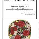 A set of three Pizza easy readers. They all contain the same story but two of them are interactive. The first one is a regular book with easy repet...