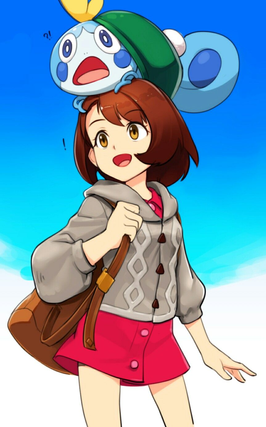 Pokemon Sword Shield Female Protagonist Pokemon Pokemon