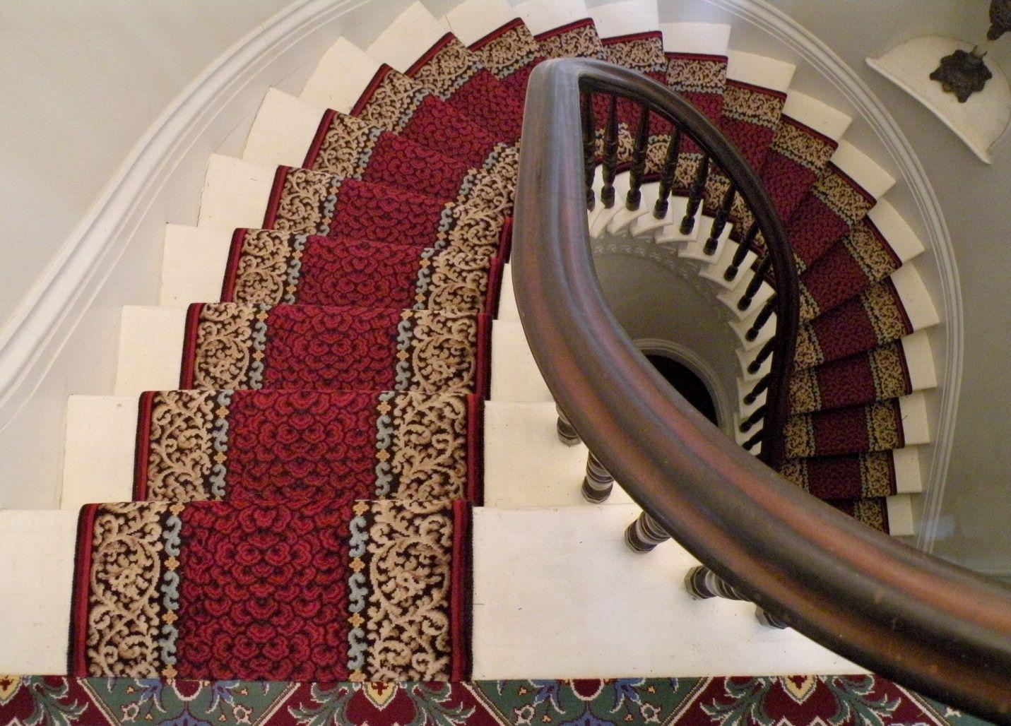 2784 21 Bromsgrove Wilton Stair Runner C1827 1848 At