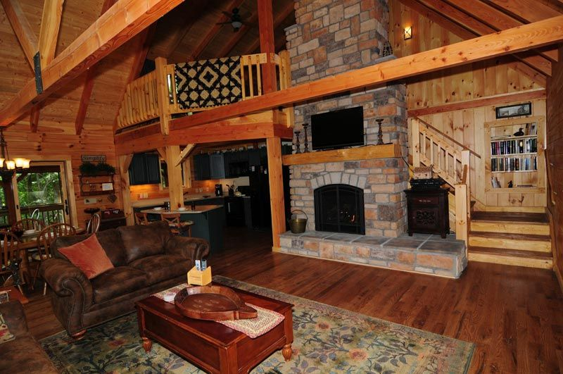 Cabin Fireplace Cabin Rental Photo Gallery At Getaway Cabins In