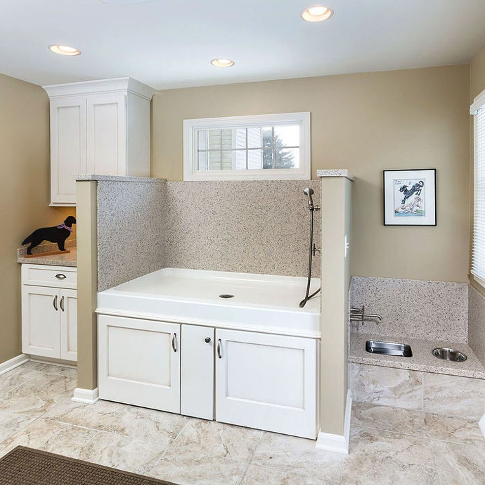 Kitchen Remodel & Mud Room Addition for Dogs Dog rooms