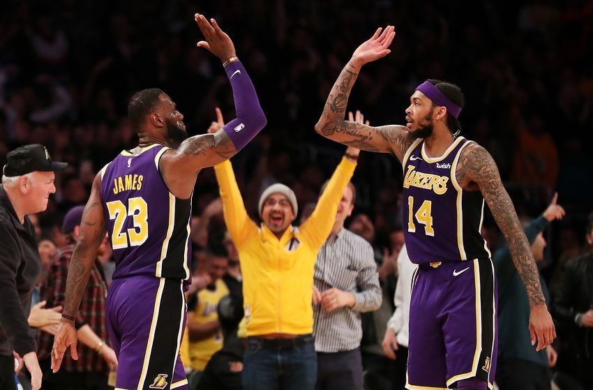 Los Angeles Lakers 5 Steps To Championship Contention Lebron James Brandon Ingram Los Angeles Lakers